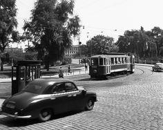 Na Klarove, Prague 1959 Prague Photos, Old Paintings, Bratislava, Prague Transport, More Pictures, Historical Photos, Czech Republic, Old Town, Techno