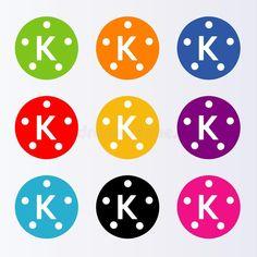 Illustration of kinemaster - 121238581 Video Editing Apps, Download Video, Print Logo, Logos, Illustration, Prints, Dj, Wallpaper, Logo