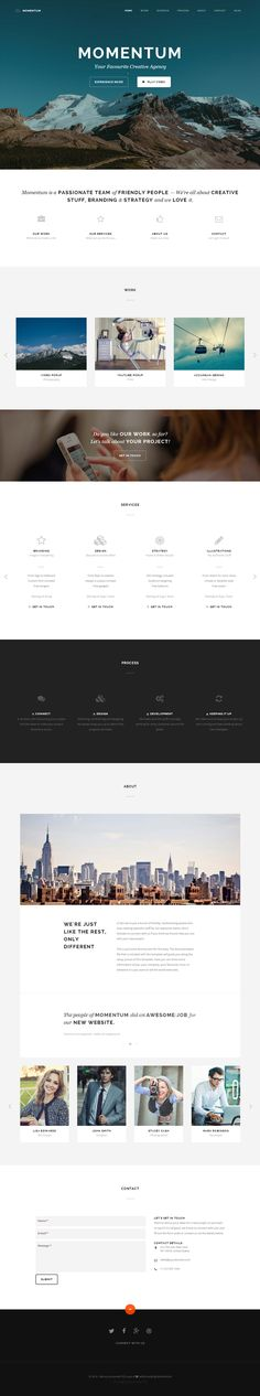 Momentum is Premium Responsive Retina Parallax Drupal Multipurpose Theme. Bootstrap 3. One Page. Drag and Drop. Video Background.