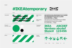 "was part of a team that cooperated to develop IKEA's annual press day ""Democratic Design Day"", a day for the company to present new designs, directions, and ideas for the future. PJADAD's task was above all to build an identity and a sp… Corporate Style, Corporate Design, Typography Design, Branding Design, Brand Guidelines Design, Primary And Secondary Colors, Ikea Design, Ads Creative, Design System"