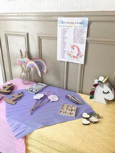 {Celebrate} Un anniversaire licorne DIY! Birthday Celebration, Activities For Kids, Printables, Kids Rugs, Celebrities, Party, Home Decor, Horses, Unicorn Birthday Parties