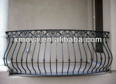 Wrought Iron Window Boxes, Wrought Iron Stairs, Balcony Grill Design, Balcony Railing Design, Veranda Railing, Steel Grill Design, Iron Balcony, Balkon Design, Iron Doors