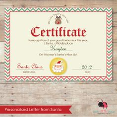 Message from santa telegram santa message messages and personalised letter from santa kit from busy little bugs spiritdancerdesigns Images