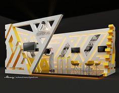 Arab Sea Information Systems - Booth DesignRiyadh - Media KAL Advertising Agency Kiosk Design, Display Design, Store Design, Exhibition Stall Design, Exhibition Display, Exhibition Stands, Exhibit Design, Web Banner Design, Stand Feria