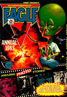 EAGLE (TIRAS DE JORNAL / COMIC STRIP - CLASSIC COMICS) Nº 01 EDIÇÃO ANUAL 1983_1