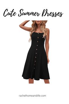 Find inspiration here for cute summer dresses to help keep you cool and comfortable on those beautiful hot summer days! #fashion #summer #dresses #summerstyle #womensclothing Spring Fashion Outfits, Spring Fashion Trends, Summer Outfits, Cute Summer Dresses, Spring Dresses, Spring Shoes, Summer Days, Beachwear, Fashion Looks
