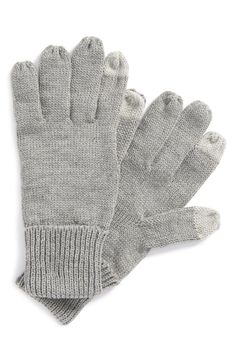 Texting gloves.