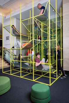 Image 4 of 16 from gallery of BuzziJungle / BuzziSpace. Courtesy of BuzziJungle