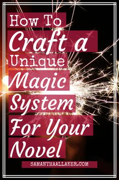 Magic systems can bring a sense of wonder to your fantasy and sci-fi worlds. Here are my 3 top tips for writing an original magic system for your novel Book Writing Tips, Writing Process, Writing Resources, Writing Help, Writing Notebook, Writing Ideas, Science Fiction, Fiction Writing, Writing Fantasy