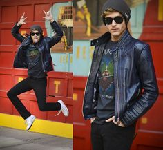 JUMP ! (by Adam Gallagher) http://lookbook.nu/look/4714397-JUMP