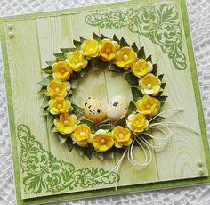 Blog Craft Passion: Kartka wielkanocna/ Easter card