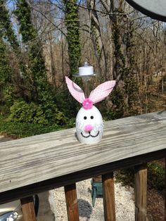 Hey, I found this really awesome Etsy listing at https://www.etsy.com/listing/270590749/easter-rabbit-wine-glass-candle-holder