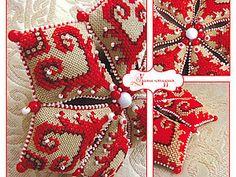 Мастер-класс: делаем оригинальную текстильную звезду на Новый год | Ярмарка Мастеров - ручная работа, handmade