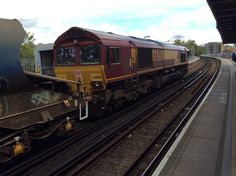 66 090 Lewisham  30/04/16 Rail Train, Train Service