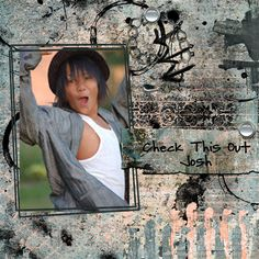 Josh from a photo shoot that Kacee did.  Distressed Fusion Bundle Blendits layered Template 3