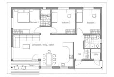 house design small-house-plan-ch63 10