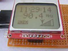 FM radio with TEA5767 and Arduino (III) - YouTube