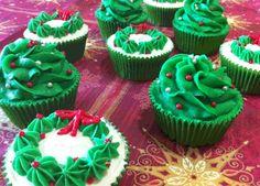 Cómo hacer Cupcakes de navidad de canela | Recetas de Cupcakes
