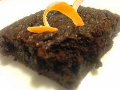 Love & Life & Learning: Recipe: Dark Chocolate Orange Brownies