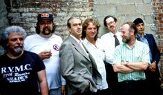 Left to Right: Spain Rodriguez, S. Clay Wilson, Robert Williams, Rick Griffin, Robert Crumb, Gilbert Shelton and Victor Moscoso.