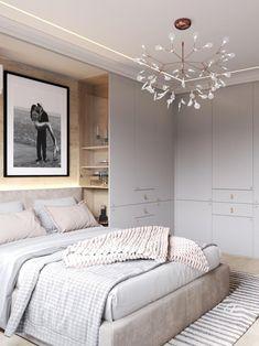 Room Design Bedroom, Home Room Design, Home Bedroom, Modern Bedroom, Home Interior Design, Bedroom Furniture, Furniture Design, Bedroom Decor, Small Bedroom Interior