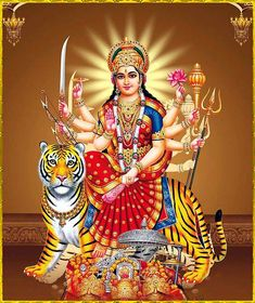 Jai Mata Di Hd Wallpapers Download Hd Wallpaper Pinterest