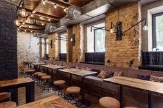 Place: Bottega wine & tapas restaurantLocation: Tereshchenkovskaya st., 13, Kiev, UkraineFunction: restaurantArea: 240 m2Status: realization 2015Designers: Yova Yager, Ira MillerStudio: Kleydesign.comPhotographer: Anya GarienchikLocated in a hist…