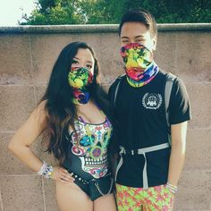 in honor of that godlike EDC lineup catch ur fave rave couple at #edclv2016  by angelica.tecson