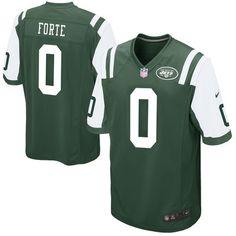 Men's New York Jets Matt Forte Nike Green Game Jersey