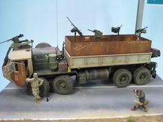 M 977 HEMTT Gun Truck