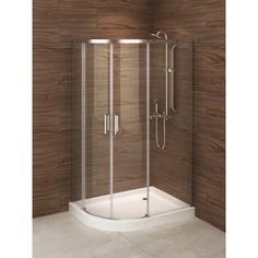 madrid 48inch x 36inch leftopening asymmetric corner shower stall by au0026e bath and shower