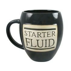 Coffee is the best way to get your engines revving. Is coffee your starter fluid too? Best Coffee Mugs, Coffee And Books, Funny Coffee Mugs, Coffee Quotes, Coffee Humor, Coffee Drinks, Coffee Shop, Coffee Cups, Coffee Coffee