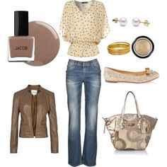 outfit idea, i don't care for the jacket but the rest is awesome :)