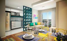 Maxi Pirituba I Decoração do Apartamento 52m ² + Fotos