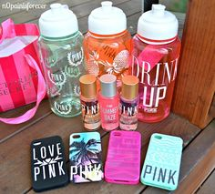 OMG I JUST BOUGHT A BUNCH OF STUFF FROM VS & PINK!! I can't wait until I finally buy my stuff from Etsy!!