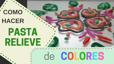Como Hacer Pasta Relieve de Colores Recycled Cds, Pasta Flexible, Clay Tutorials, Cold Porcelain, Easy Diy Crafts, Paper Mache, Make It Yourself, Christmas Ornaments, Holiday Decor