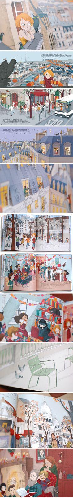 Marie de Paris - princesse camcam #childrenbook #illustration
