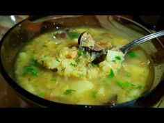 (5) Суп из чечевицы цыганка готовит. Чечевичный суп с грибами. Gipsy cuisine. - YouTube