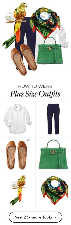 """Living in the Tropics & Living It."" by morningsjoy on Polyvore featuring navabi, Dsquared2, Aéropostale and Hermès"
