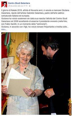Giuliana Galantara passed away - http://www.afnews.info/wordpress/2016/12/30/giuliana-galantara-passed-away/