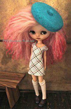Lilliette, Custom Middie Blythe Art Doll For Adoption