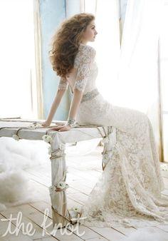 Jim Hjelm wedding dress 8211