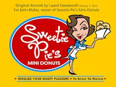 MY LOGO DESIGN STYLE: I love this logo design. Can't wait to see it on the side of the Donut Van, on t-shirts, etc.!