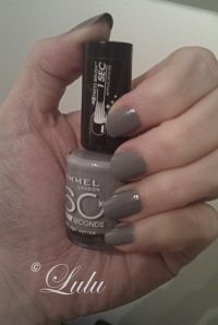 Grey matter nail polish by Rimmel