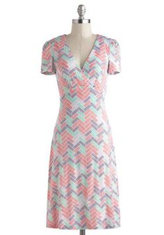 Tile Savvy Dress, #ModCloth
