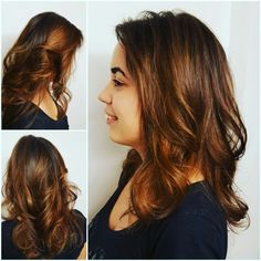 Tortoise shell hairstyle