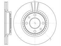 Disques de frein pour RENAULT Clio Scenic Kangoo Megane R19