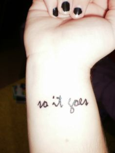 """The many Kurt Vonnegut tattoos from the blog """"Contrariwise: Literary Tattoos."""" This one has a story on the blog: """"The phrase 'so it goes' appears in Kurt Vonnegut's 'Slaughterhouse-Five' 106 times. Can you help me collect 106 'so it goes' tattoos? 44 down, 62 to go [as of July 21, 2012]."""""""