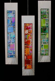 Fused Glass Wall Art by Frank Thompson | fused glass | Pinterest | Glass wall art Glass and Walls & Fused Glass Wall Art by Frank Thompson | fused glass | Pinterest ...