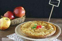 Tarta de manzana en quince minutos
